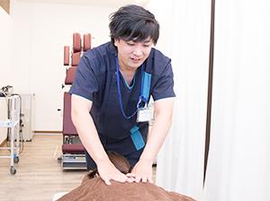 坐骨神経の施術